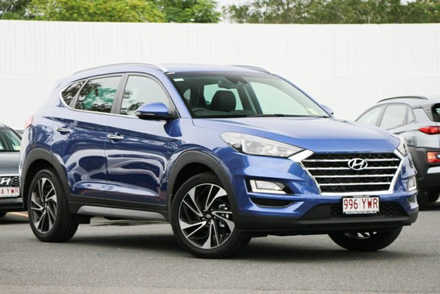 Demonstrator, Demo, Near New Hyundai Tucson Special Edition D-CT AWD, Indooroopilly, 2018 Hyundai Tucson Special Edition D-CT AWD Wagon