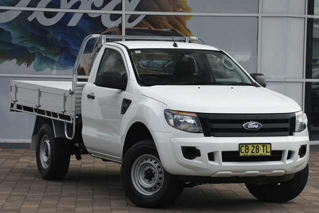 Discounted Used Ford Ranger XL 4x2 Hi-Rider, Narellan, 2015 Ford Ranger XL 4x2 Hi-Rider Cab Chassis