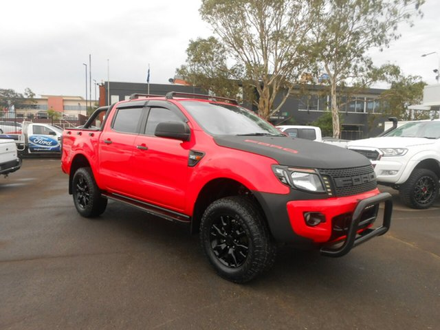 Used Ford Ranger XLS Double Cab, Nowra, 2014 Ford Ranger XLS Double Cab Utility