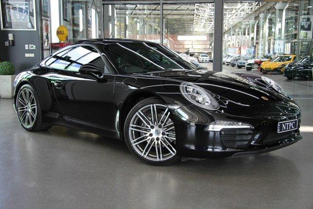 Used Porsche 911 Carrera Black Edition PDK, North Melbourne, 2015 Porsche 911 Carrera Black Edition PDK Coupe