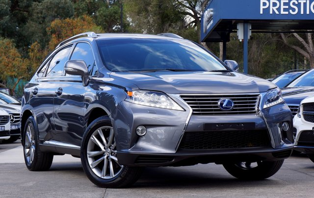 Used Lexus RX450H Sports Luxury, Balwyn, 2015 Lexus RX450H Sports Luxury Wagon