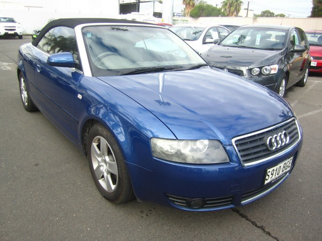 Used Audi A4 Multitronic, St Marys, 2003 Audi A4 Multitronic Cabriolet