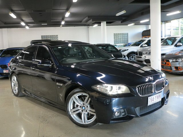 Used BMW 520d M Sport Steptronic, Albion, 2014 BMW 520d M Sport Steptronic Sedan