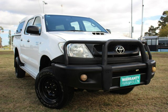 Used Toyota Hilux SR, Officer, 2010 Toyota Hilux SR Utility