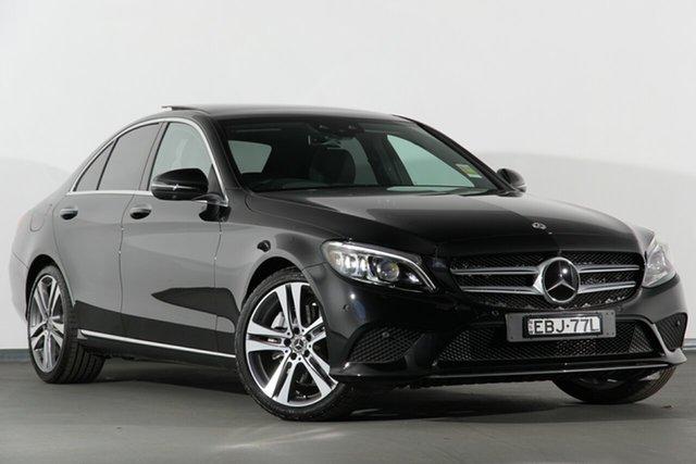 Demonstrator, Demo, Near New Mercedes-Benz C300 9G-Tronic, Campbelltown, 2018 Mercedes-Benz C300 9G-Tronic Sedan