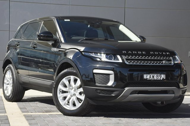 Discounted Used Land Rover Range Rover Evoque TD4 150 SE, Narellan, 2015 Land Rover Range Rover Evoque TD4 150 SE SUV