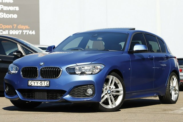 Used BMW 120i Sport Line, Brookvale, 2015 BMW 120i Sport Line Hatchback