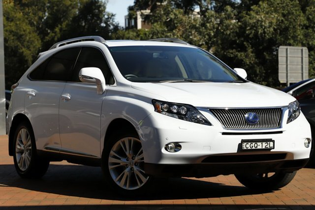 Used Lexus RX450H Sports Luxury, Narellan, 2012 Lexus RX450H Sports Luxury Wagon