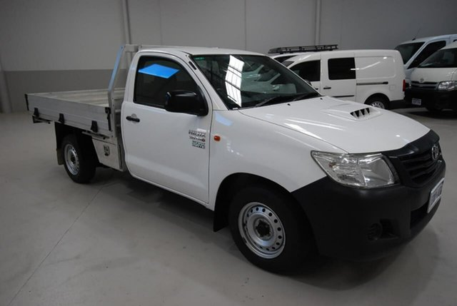 Used Toyota Hilux Workmate 4x2, Kenwick, 2013 Toyota Hilux Workmate 4x2 Cab Chassis