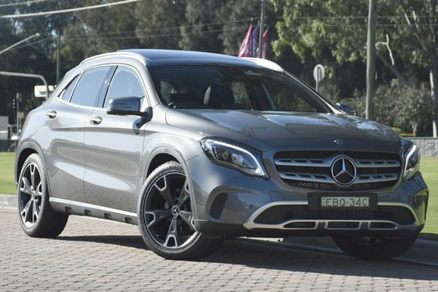 Demonstrator, Demo, Near New Mercedes-Benz GLA 250 4MATIC DCT 4MATIC, Warwick Farm, 2018 Mercedes-Benz GLA 250 4MATIC DCT 4MATIC SUV