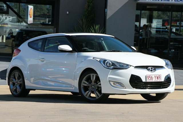 Used Hyundai Veloster + Coupe, Indooroopilly, 2011 Hyundai Veloster + Coupe Hatchback