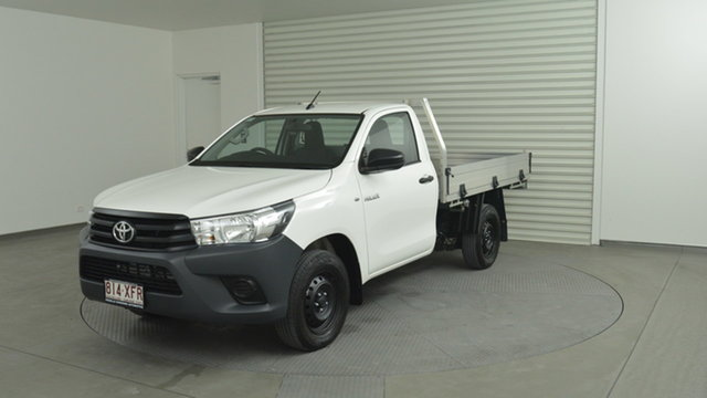 Used Toyota Hilux Workmate 4x2, Warwick Farm, 2017 Toyota Hilux Workmate 4x2 Cab Chassis