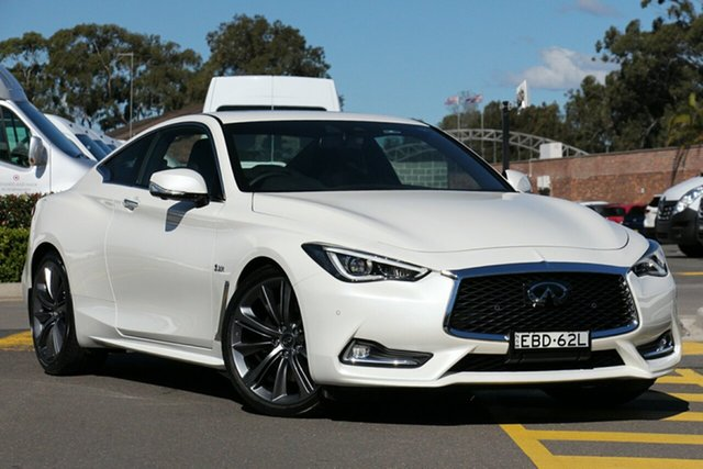 Discounted Demonstrator, Demo, Near New Infiniti Q60 Red Sport, Warwick Farm, 2018 Infiniti Q60 Red Sport Coupe