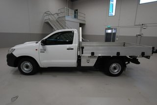 2013 Toyota Hilux Workmate 4x2 Cab Chassis.