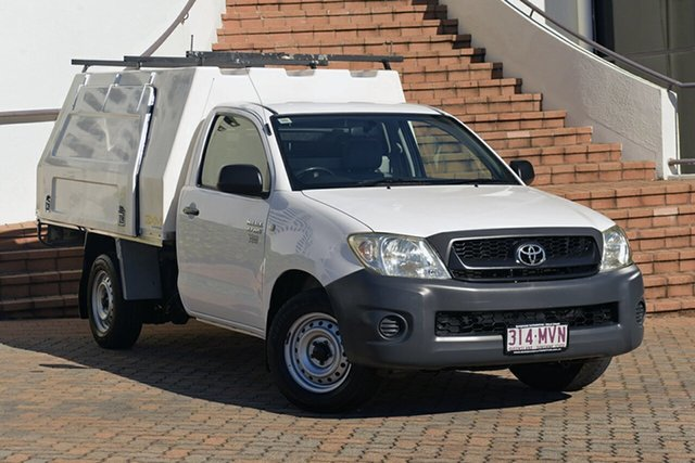 Used Toyota Hilux Workmate 4x2, Narellan, 2010 Toyota Hilux Workmate 4x2 Cab Chassis