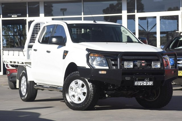 Used Ford Ranger XL Double Cab, Narellan, 2014 Ford Ranger XL Double Cab Cab Chassis