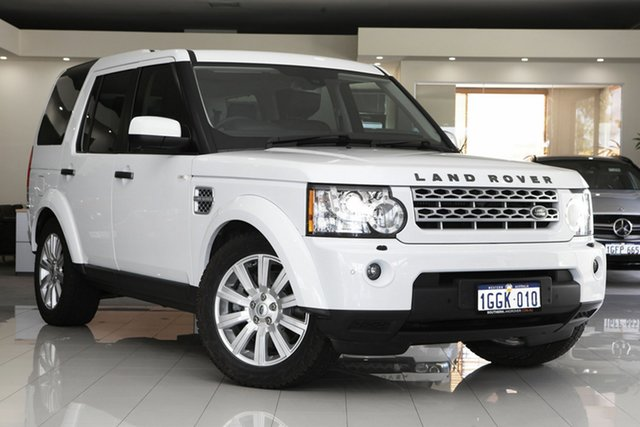 Used Land Rover Discovery 4 SDV6 CommandShift HSE, Cannington, 2012 Land Rover Discovery 4 SDV6 CommandShift HSE Wagon