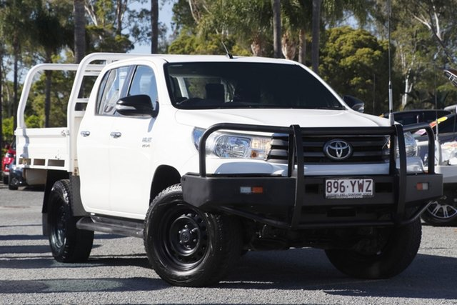 Used Toyota Hilux SR Double Cab, Beaudesert, 2015 Toyota Hilux SR Double Cab Cab Chassis