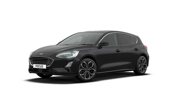 Discounted Demonstrator, Demo, Near New Ford Focus Titanium, Campbelltown, 2018 Ford Focus Titanium Hatchback