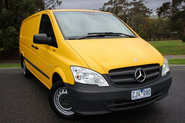 Used Mercedes-Benz Vito 113CDI LWB, Officer, 2012 Mercedes-Benz Vito 113CDI LWB Van