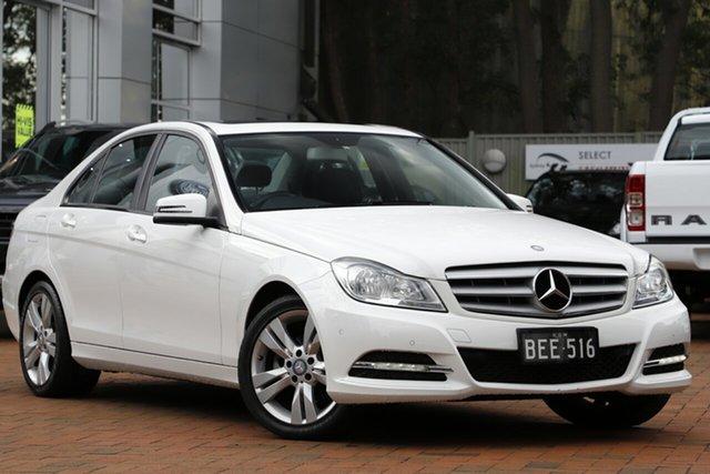 Used Mercedes-Benz C200 7G-Tronic +, Artarmon, 2013 Mercedes-Benz C200 7G-Tronic + Sedan