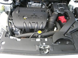 2008 Mitsubishi Lancer ES Sportback Hatchback.