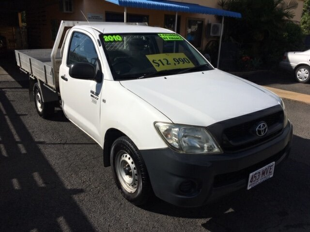 Used Toyota Hilux Workmate, North Rockhampton, 2010 Toyota Hilux Workmate Utility