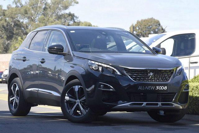 Discounted New Peugeot 3008 GT Line SUV, Warwick Farm, 2018 Peugeot 3008 GT Line SUV SUV