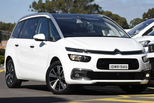 Discounted Used Citroen Grand C4 Picasso Exclusive, Warwick Farm, 2017 Citroen Grand C4 Picasso Exclusive Wagon