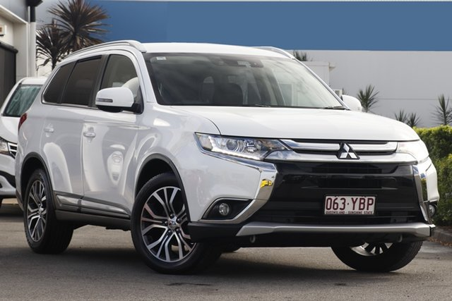 Used Mitsubishi Outlander LS 2WD Safety Pack, Bowen Hills, 2016 Mitsubishi Outlander LS 2WD Safety Pack Wagon