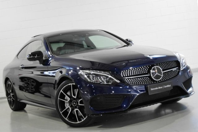 Used Mercedes-Benz C43 AMG 9G-Tronic 4MATIC, Chatswood, 2017 Mercedes-Benz C43 AMG 9G-Tronic 4MATIC Coupe