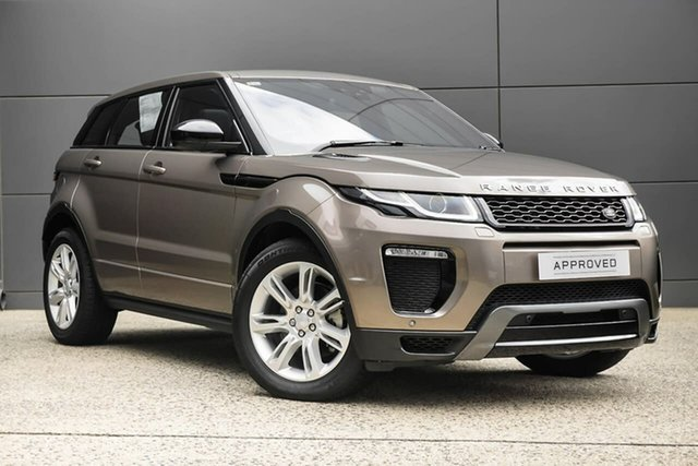 Demonstrator, Demo, Near New Land Rover Range Rover Evoque TD4 180 HSE Dynamic, Geelong, 2017 Land Rover Range Rover Evoque TD4 180 HSE Dynamic Wagon