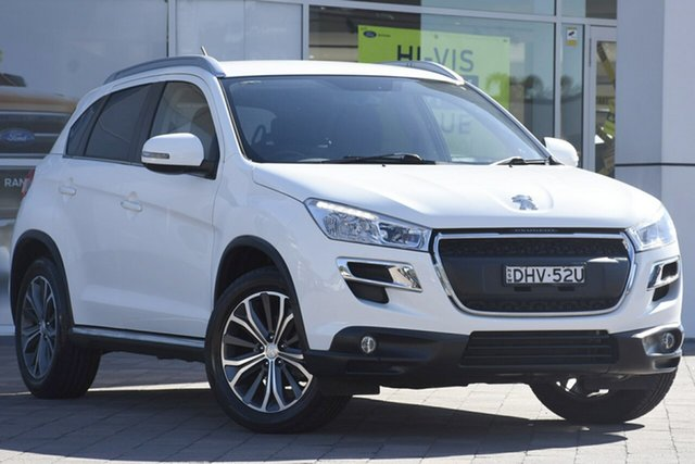 Used Peugeot 4008 Active 2WD, Warwick Farm, 2016 Peugeot 4008 Active 2WD SUV
