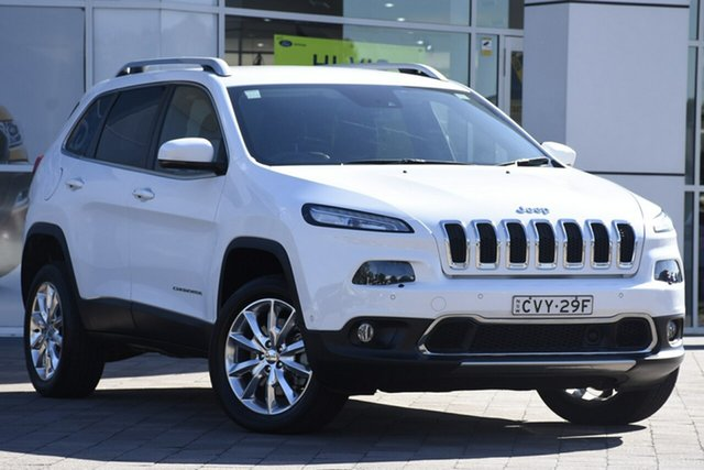 Used Jeep Cherokee Limited, Warwick Farm, 2014 Jeep Cherokee Limited SUV