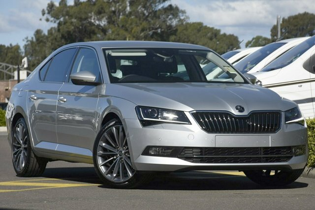 Demonstrator, Demo, Near New Skoda Superb 162TSI Sedan DSG, Bowen Hills, 2018 Skoda Superb 162TSI Sedan DSG Liftback