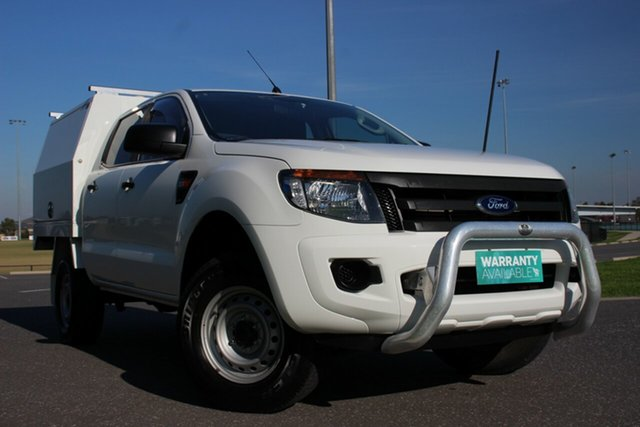 Used Ford Ranger XL Double Cab, Officer, 2014 Ford Ranger XL Double Cab Cab Chassis