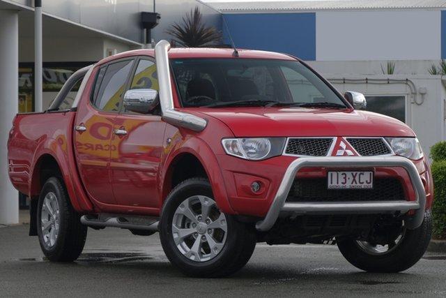 Used Mitsubishi Triton GLX-R Double Cab, Bowen Hills, 2015 Mitsubishi Triton GLX-R Double Cab Utility