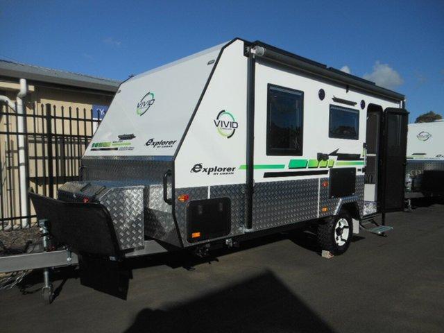 New Vivid Caravans Explorer. 17' (UC1916), Pialba, 2019 Vivid Caravans Explorer. 17' (UC1916) Caravan