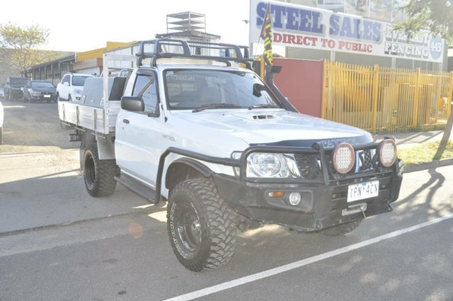Used Nissan Patrol DX (4x4), Hoppers Crossing, 2009 Nissan Patrol DX (4x4) Leaf Cab Chassis