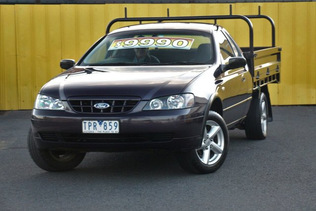Discounted Used Ford Falcon RTV, Cheltenham, 2005 Ford Falcon RTV Cab Chassis