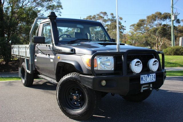 Used Toyota Landcruiser Workmate, Officer, 2008 Toyota Landcruiser Workmate Cab Chassis