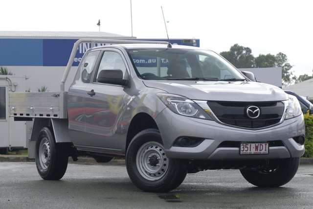 Used Mazda BT-50 XT Freestyle 4x2 Hi-Rider, Toowong, 2015 Mazda BT-50 XT Freestyle 4x2 Hi-Rider Cab Chassis