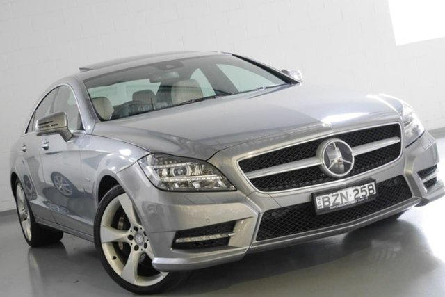 Used Mercedes-Benz CLS500 BlueEFFICIENCY Coupe 7G-Tronic, Warwick Farm, 2011 Mercedes-Benz CLS500 BlueEFFICIENCY Coupe 7G-Tronic Sedan