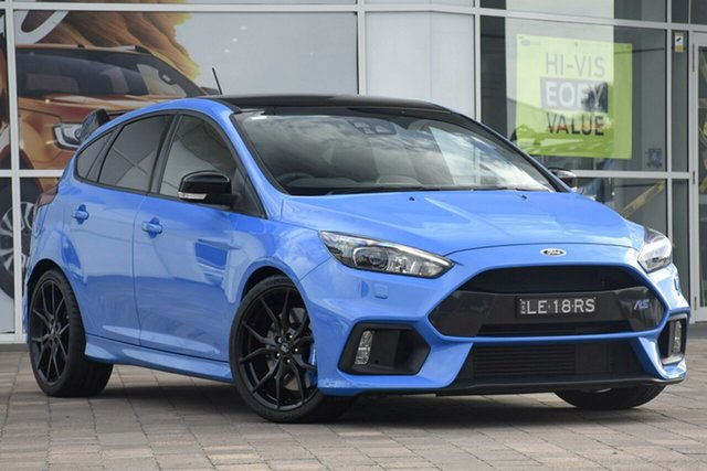 Discounted Used Ford Focus RS AWD Limited Edition, Warwick Farm, 2018 Ford Focus RS AWD Limited Edition Hatchback