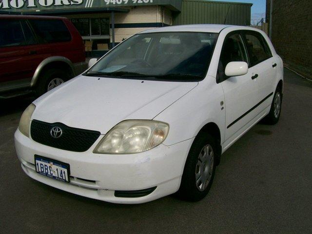 Used Toyota Corolla Ascent, Wangara, 2001 Toyota Corolla Ascent Hatchback