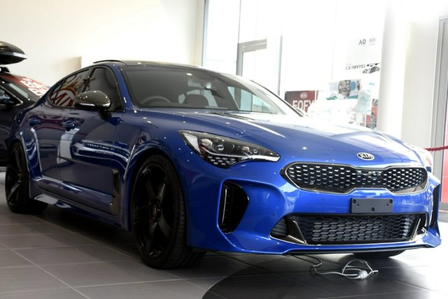 New Kia Stinger GT (blk LTH W Michelin Tyr), Southport, 2019 Kia Stinger GT (blk LTH W Michelin Tyr) Sedan