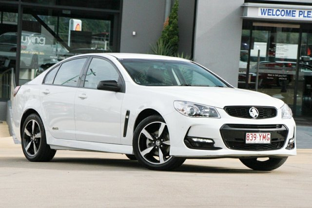 Used Holden Commodore SV6 Black, Indooroopilly, 2016 Holden Commodore SV6 Black Sedan