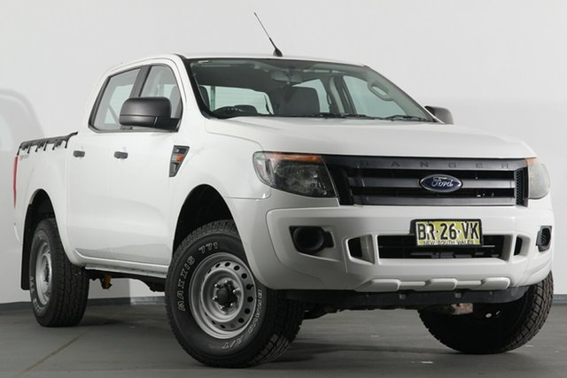 Used Ford Ranger XL Double Cab 4x2 Hi-Rider, Campbelltown, 2012 Ford Ranger XL Double Cab 4x2 Hi-Rider Utility
