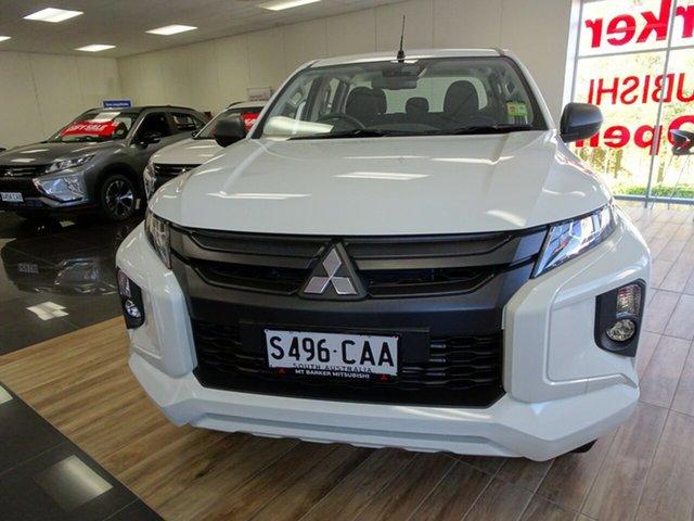 Demonstrator, Demo, Near New Mitsubishi Triton GLX+ Double Cab, Cheltenham, 2018 Mitsubishi Triton GLX+ Double Cab Utility