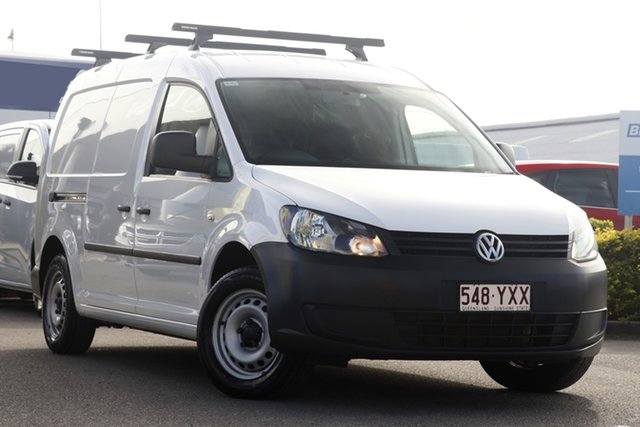 Used Volkswagen Caddy TDI250 BlueMOTION Maxi, Bowen Hills, 2013 Volkswagen Caddy TDI250 BlueMOTION Maxi Van